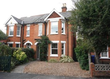 Thumbnail 4 bed semi-detached house to rent in The Grove, Horsell, Woking