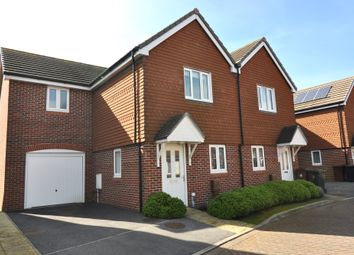 Thumbnail 3 bed semi-detached house for sale in Hazel Copse, Hambrook, Chichester