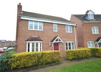 Thumbnail 4 bed detached house for sale in Elder Close, Witham St. Hughs, Lincoln