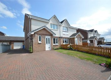 Thumbnail 3 bed semi-detached house for sale in Auldton Drive, Lesmahagow, Lanark