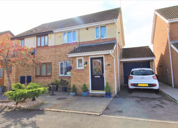 Thumbnail 3 bed semi-detached house for sale in Heol Draenen Wen, Culverhouse Cross, Cardiff