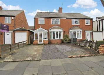Thumbnail 4 bed semi-detached house for sale in Oakland Road, Monkseaton, Whitley Bay