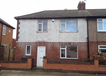Thumbnail 2 bedroom end terrace house for sale in Belper Street, Belgrave, Leicester