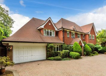 Thumbnail 5 bed detached house for sale in The Bridle Path, Ewell, Epsom