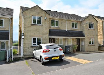 Thumbnail 4 bed semi-detached house for sale in Longwood Gate, Longwood, Huddersfield