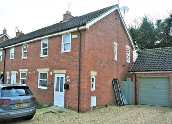 Thumbnail 3 bed end terrace house for sale in Beck Way, Thurlby, Lincolnshire