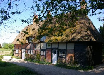 Thumbnail 2 bed cottage to rent in Longparish, Andover, Hampshire