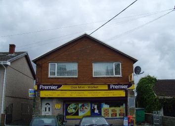 Thumbnail 2 bed flat to rent in Bridgend Road, Llangynwyd, Maesteg