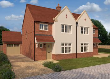 Thumbnail 3 bed semi-detached house for sale in Alconbury Weald, Ermine Street, Alconbury, Huntingdon