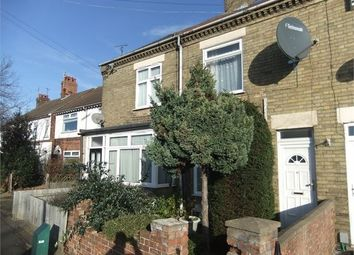 Thumbnail 3 bedroom terraced house for sale in Lincoln Road, New England, Peterborough, Cambridgeshire.