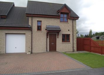 Thumbnail 3 bed semi-detached house to rent in Millbuie Street, Elgin