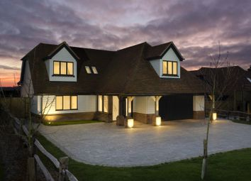 Thumbnail 5 bed detached house for sale in Woodland View, Buck Street, The Firs, Challock, Ashford