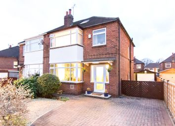 Thumbnail 4 bed semi-detached house for sale in Gledhow Grange Walk, Leeds