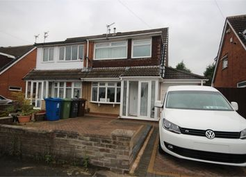 Thumbnail 3 bed semi-detached house for sale in Telford Crescent, Leigh, Lancashire