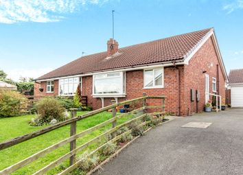 Thumbnail 2 bed semi-detached bungalow for sale in Nestfield Close, Pontefract
