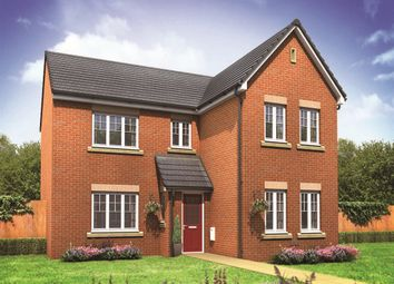 "Thumbnail 4 bed detached house for sale in ""The Carnaby"" at Kirk Ley Road, East Leake, Loughborough"