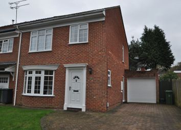 Thumbnail 3 bed detached house to rent in Richmond Close, Frimley, Camberley