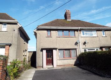 Thumbnail 3 bed semi-detached house for sale in Park Road, Gowerton, Swansea