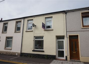Thumbnail 3 bed terraced house for sale in Yew Street, Merthyr Tydfil