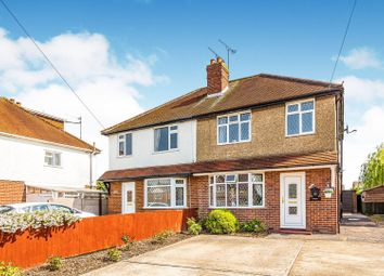 Thumbnail 3 bed semi-detached house for sale in Whitley Wood Lane, Reading