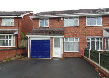 Thumbnail 3 bedroom semi-detached house to rent in The Hurstway, Erdington, Birmingham
