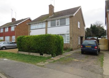Thumbnail 3 bed semi-detached house for sale in Cherry Walk, Raunds, Wellingborough