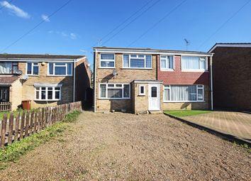 Thumbnail 3 bed semi-detached house for sale in Harcourt Gardens, Rainham, Gillingham