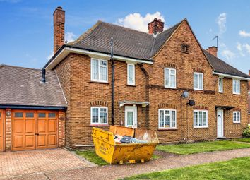 Thumbnail 3 bed semi-detached house for sale in Churchill Close, Stewartby, Bedford