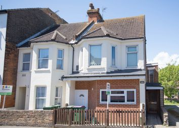 Thumbnail 3 bedroom end terrace house for sale in Dover Road, Folkestone