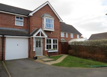 Thumbnail 3 bed end terrace house for sale in Discovery Close, Sleaford