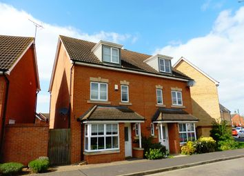 Thumbnail 4 bedroom semi-detached house for sale in Tinus Avenue, Hampton Vale, Peterborough