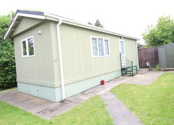 Thumbnail 1 bedroom bungalow to rent in Westbourne Mobile Home Park, Nursery Road, Luton
