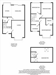 Thumbnail 4 bed detached house for sale in Swanlow Lane, Winsford
