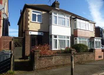 Thumbnail 3 bedroom semi-detached house for sale in Sandell Close, Stockingstone Road, Luton