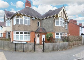 Thumbnail 4 bed semi-detached house for sale in Lancaster Road, Rugby