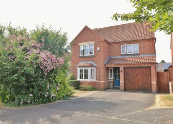 Thumbnail 4 bed detached house for sale in Stokes Close, Longstanton, Cambridge