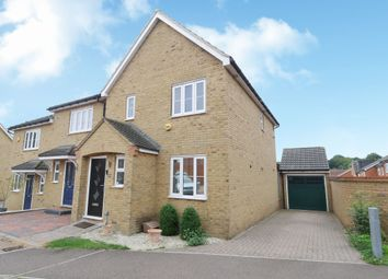 Thumbnail 3 bed end terrace house for sale in Hunt Hill Close, Stevenage