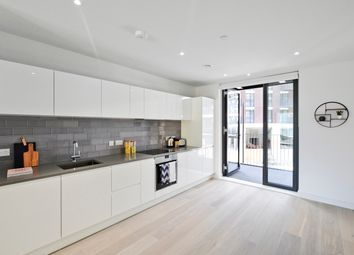 Thumbnail 2 bed flat to rent in Royal Wharf, Pontoon Dock, Newham