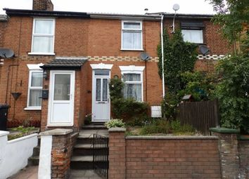 Thumbnail 2 bedroom terraced house for sale in Sproughton Road, Ipswich, Suffolk