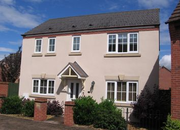 Thumbnail 3 bedroom detached house to rent in Moorhouse Close, Wellington, Telford
