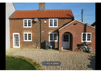 Thumbnail 1 bed semi-detached house to rent in Snitterby, Snitterby