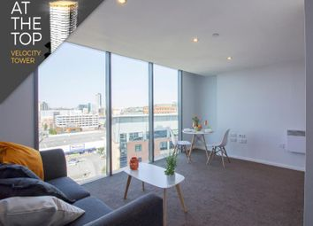 Thumbnail 1 bed flat to rent in Apartment 168, Velocity Tower, St. Mary's Gate, Sheffield