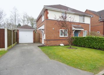 Thumbnail 2 bed semi-detached house to rent in Freshwater Close, Great Sankey, Warrington