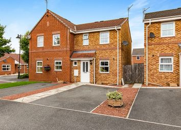 Thumbnail 2 bed semi-detached house for sale in Densham Drive, Stockton-On-Tees