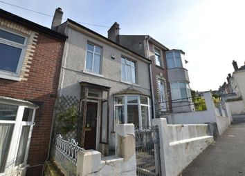 Thumbnail 3 bed terraced house for sale in Clinton Avenue, Plymouth, Devon