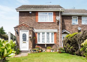 Thumbnail 3 bed end terrace house for sale in The Laurels, Hopton, Great Yarmouth
