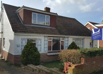 Thumbnail 2 bed semi-detached bungalow for sale in Hill View Road, Portchester, Fareham