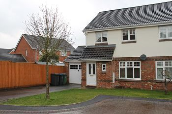 Thumbnail 3 bed semi-detached house to rent in Boulton Close, Westbury, Wiltshire