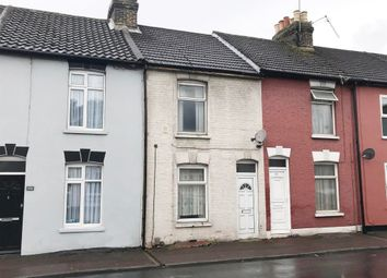 Thumbnail 2 bed terraced house for sale in 176 Thorold Road, Chatham, Kent