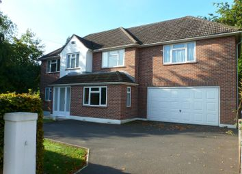 Thumbnail 5 bed detached house to rent in Sandecotes Road, Lower Parkstone, Poole